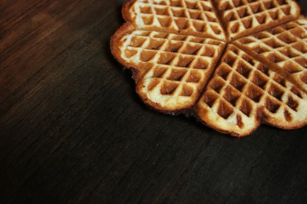 receta de los waffles