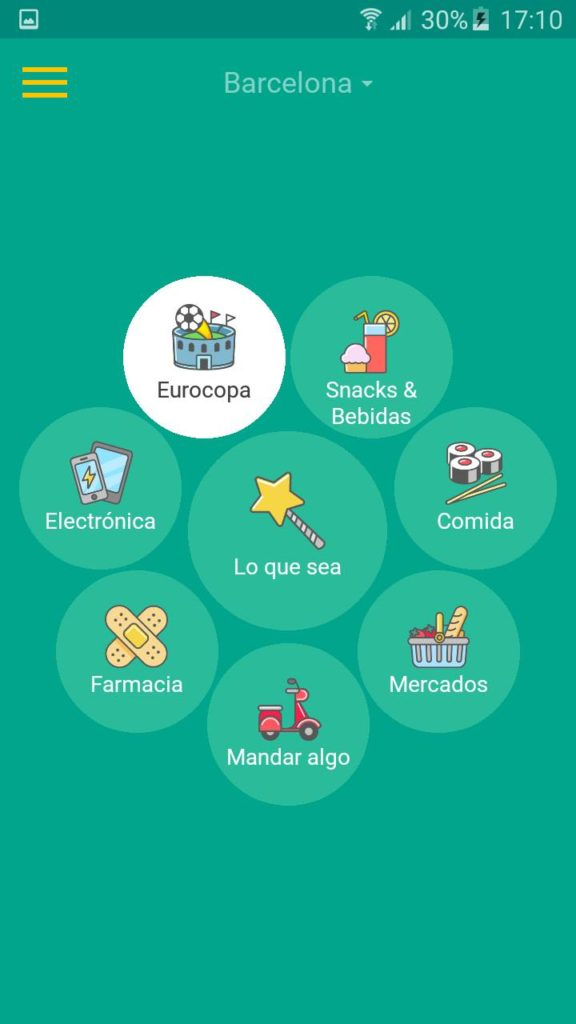 glovo app principal